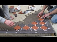 Victorian Floor Tiles (Geometric floor tiles) used for garden paths, entrance hall floors, fireplace hearths and bathrooms. Victorian Front Garden, Victorian Terrace, Porch Tile, Front Path, Tiled Hallway, Hall Flooring, Victorian Tiles, Red Tiles, Geometric Tiles