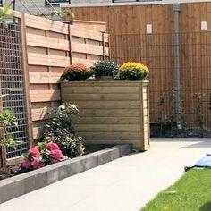 Plantenbak Rechthoekig 12040100 ook als afscheiding Small Gardens, Wood Crafts, New Homes, Outdoor Structures, Interior Design, Plants, Gardening, Interiors, Google