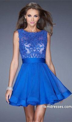 15 Exquisite Homecoming Dresses Scoop Neckline Mesh Illusion Dark Royal Blue Chiffon http://www.ikmdresses.com/2014-Exquisite-Homecoming-Dresses-Scoop-Neckline-Mesh-Illusion-Dark-Royal-Blue-Chiffon-p85241