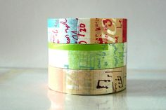 New collection Graffiti washi tape. This is the lighter A set.