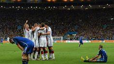 Alemania 1 - 0 Argentina