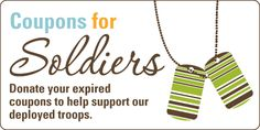 Coupons for Soldiers donation program