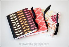Super cute and easy mod podge craft! Great way to cover and personalize your composition books/journals. Great for school!
