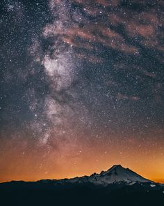 Milky Way Over Mt. Baker (Washington) by Dylan Furst - 500px