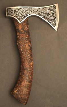 Weaponry with beautiful artistic detail