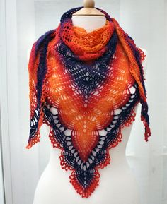 Proud as a Peacock shawl in Schoppel-Wolle Lace Ball