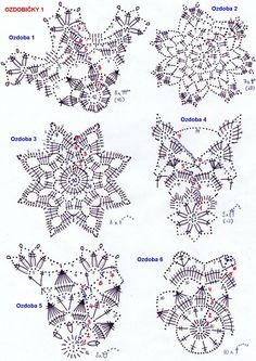 Best 12 – Page 838584393092934538 - Her Crochet Crochet Snowflake Pattern, Crochet Motif Patterns, Christmas Crochet Patterns, Crochet Snowflakes, Crochet Diagram, Crochet Doilies, Crochet Flowers, Crochet Ball, Thread Crochet