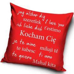 Mahal Kita, L Love You, Throw Pillows, Te Quiero, Love, I Love You, Toss Pillows, Je T'aime, Cushions