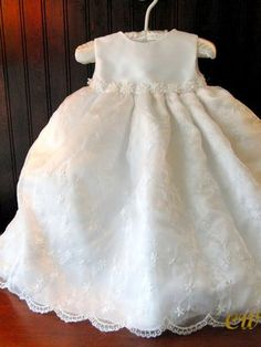 Hallie Girls Christening Dress  Unfortunately, they have discontinued this and it is so beautiful!  :(