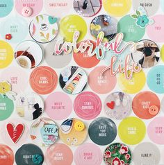 LAYOUT - COLORFUL LIFE by EyoungLee at @studio_calico