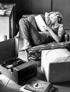 Marilyn Monroe photographed by Andre de Dienes, 1952.