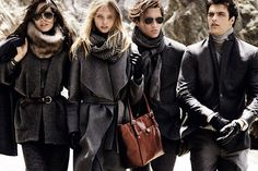 Massimo Dutti Fall Winter 2014 Ad Campaign | Art8amby's Blog