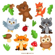 Vector tagged as animals, animals clip art, cartoon animals, cartoon char. Animal Cartoon Video, Owl Cartoon, Cute Cartoon Animals, Baby Cartoon, Funny Animals, Cute Animals Images, Cute Animals Puppies, Cute Animal Pictures, Cute Baby Animals