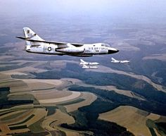 USAF Douglas RB-66 Destroyers of the 19th and 10th Tactical Reconnaissance Squadrons.