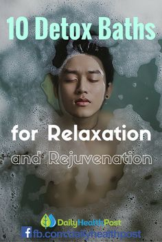 A detox bath is a great way to help cleanse the body, relax the mind, and provide extra support to various systems of the body.  There are different types of detox baths that you can make, each providing their own unique benefits.     Some of them are pretty classic, others are baths you might not have even heard about before.