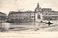 ADUANA DE BUENOS AIRES Vintage Architecture, Wild West, Louvre, History, Building, Travel, World, Old Houses, Antique Photos