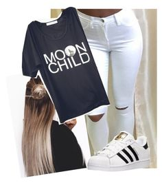 """Untitled #10051"" by imblissedoff ❤ liked on Polyvore featuring adidas"