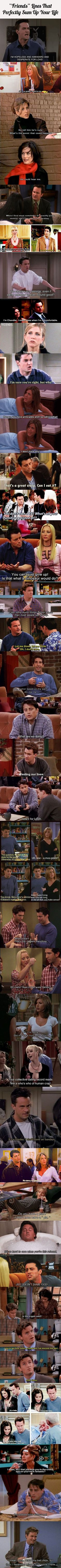 "30 ""Friends"" Lines That Perfectly Sum Up Your Life"