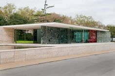 Mies van der Rohe Barcelona Pavilion,1929