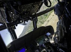 Department of Defense Current Photos Helicopter Cockpit, Black Hawk Helicopter, Military Helicopter, Us Military, Military Veterans, Military History, Military Aircraft, Weird Cars, Crazy Cars