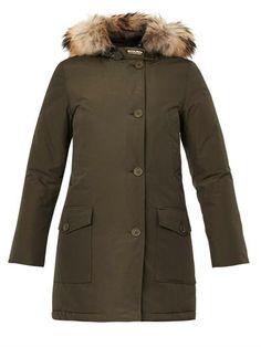 Arctic fur-trimmed down parka   Woolrich John Rich & Bros   MA...