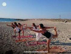 Ibiza Yoga come relax treat yourself - Spain Info Wellness Spa, Health And Wellness, Beautiful Islands, Beautiful Beaches, Living On A Boat, Enjoy The Sunshine, Yoga Retreat, Ibiza, Beach Mat