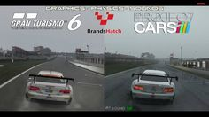 Now here's something that you don't see everyday – a Project CARS vs Gran Turismo 6 graphics and sounds faceoff video. The action takes place on a very wet Brands Hatch circuit and we follow the BMW M3 GT in third person view. The video comes from YouTube channelDigiProst.The Project CARS footage is said not to be in its highest
