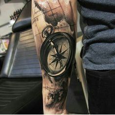 Love the details #lovecompass #lovetattoos