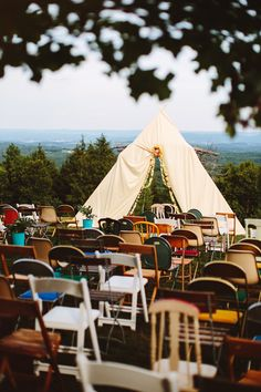 A beautiful Wes Anderson inspired wedding documented at Cedar Lake Estates in New York by the award-winning Pat Furey Photography. Wedding Goals, Wedding Themes, Boho Wedding, Wedding Styles, Dream Wedding, Wedding Backdrops, Tent Wedding, Wedding Decor, Wedding Ceremony