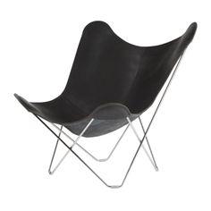 Cuero Design Pampa Mariposa Black