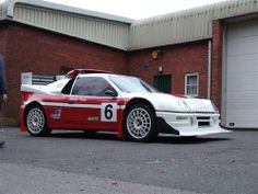 Ford RS200 rallycross car Ford Rs, Car Ford, Ford Motorsport, Sweet Cars, Ford Motor Company, Rally Car, Race Cars, Cool Cars, Classic Cars