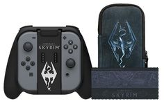 Skyrim Starter Kit comes with a Joycon Grip in a style I hadnt seen before
