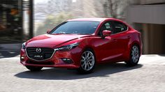 2016 Mazda 3/Axela sedan