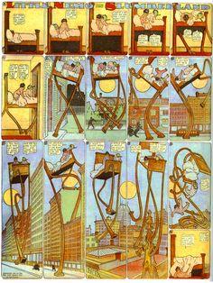 Windsor McCay http://en.wikipedia.org/wiki/Winsor_McCay