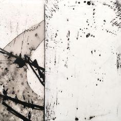 Encaustic Painting by Nancy Crawford