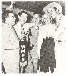 Southern Delight Hugh Cherry, Roy Acuff, hank snow, Audrey Williams, & hank Williams