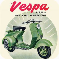 CT070 - Vespa Scooter