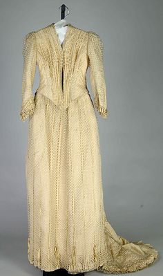 Afternoon dress 1888