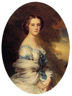 Franz Xaver Winterhalter - Melanie de Baussiere, Comtesse Edmond de Pourtalès