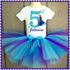 Hey, I found this really awesome Etsy listing at https://www.etsy.com/listing/191696553/frozen-birthday-outfit-frozen-tutu-set