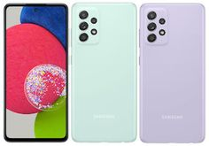 Samsung Galaxy A52s 5G Announced; Check Specifications and Prices Details Macro Camera, Memoria Ram, Finger Print Scanner, Dolby Atmos, New Samsung Galaxy, Mint Color, Dual Sim, Tecnologia