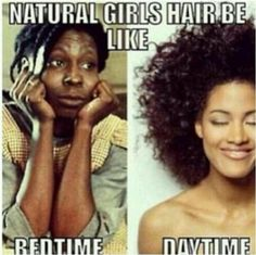 """2 Night Time Routines To Consider When """"Pineappling"""" Doesn't Work For You  Read the article here - http://www.blackhairinformation.com/beginners/finding_a_regimen/2-night-time-routines-to-consider-when-pineappling-doesnt-work-for-you/"""
