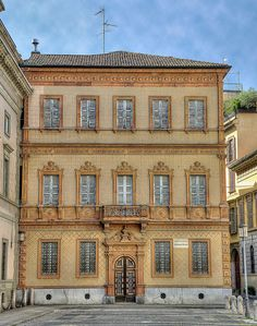 The Alessandro Manzoni's house in Milan, the italian novelist famous for the novel The Betrothed