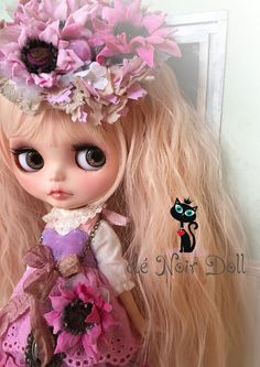 cle Noir Doll**カスタムブライス** You are my sweet pink sunshine**_画像1