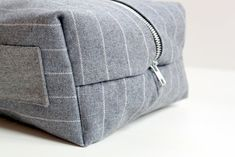 Gifts for Guys: Boxy Dopp Kit Tutorial - The Cottage Mama