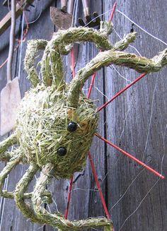 Spinne,  Heufiguren