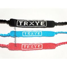 Troye Sivan TRXYE Wild Friendship Bracelets ($6.50) ❤ liked on Polyvore featuring jewelry, bracelets and friendship bracelet