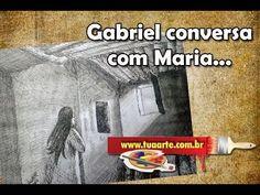 03 - O anjo Gabriel conversa com Maria - Vagnero Tero