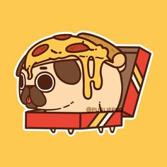 One of the classic designs, with a bit more gooey cheese ;P