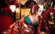 京都 変身写真スタジオ エスペラント 花魁体験プラン